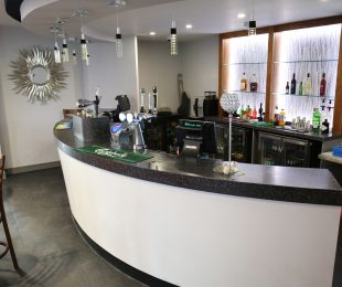 Bar in the function room