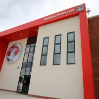 The front of Vauxhall Motors Sports Club