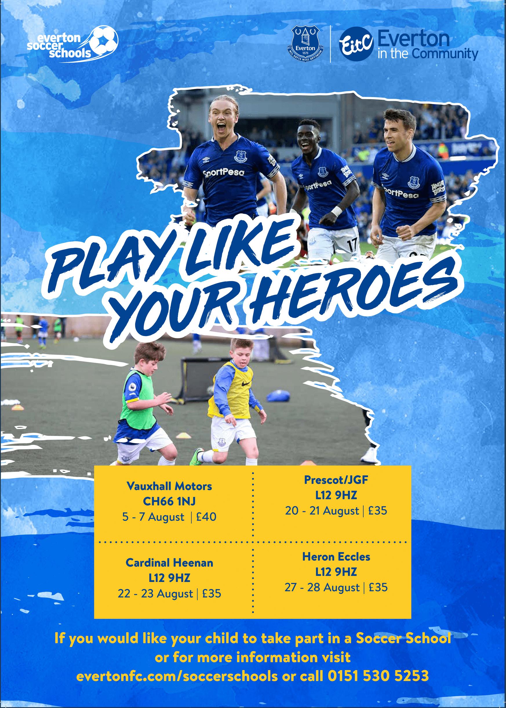 Everton Flyer Summer 2019 VAU